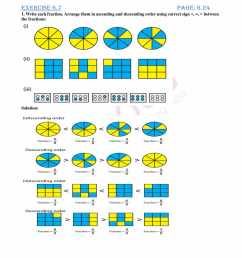 RD Sharma Solutions for Class 6 Chapter 6 Fractions Exercise 6.7 free PDF  access [ 2200 x 1700 Pixel ]