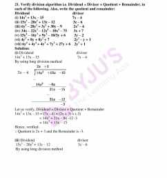 RD Sharma Solutions for Class 8 Chapter 8 Division of Algebraic Expressions  download free pdf [ 2200 x 1700 Pixel ]