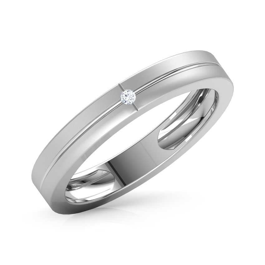 Andre Platinum Ring For Him Jewellery India Online