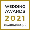 Guida Design de Eventos, vencedor Wedding Awards 2021 Casamentos.pt