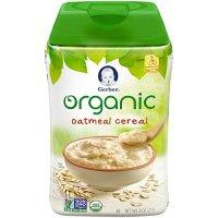 Gerber Organic Rice Cereal with Vitablocks - Clean Label ...