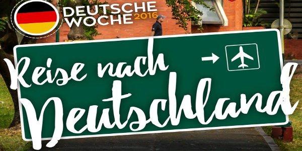 Deutsche Woche 2016 Reisen nach Deutschland