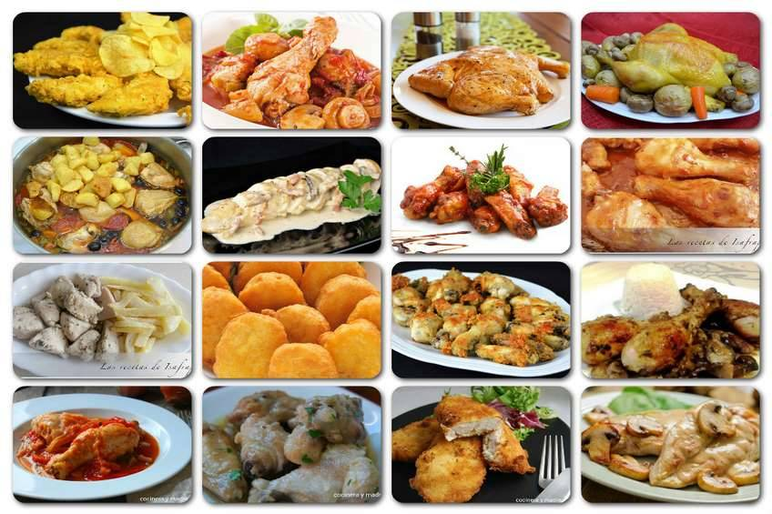 Recetas de pollo 16 recetas caseras variadas