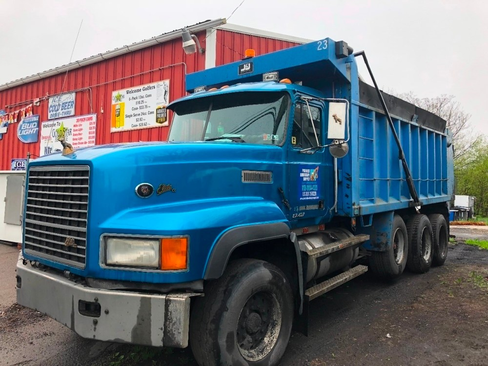 medium resolution of mack dm dump truck
