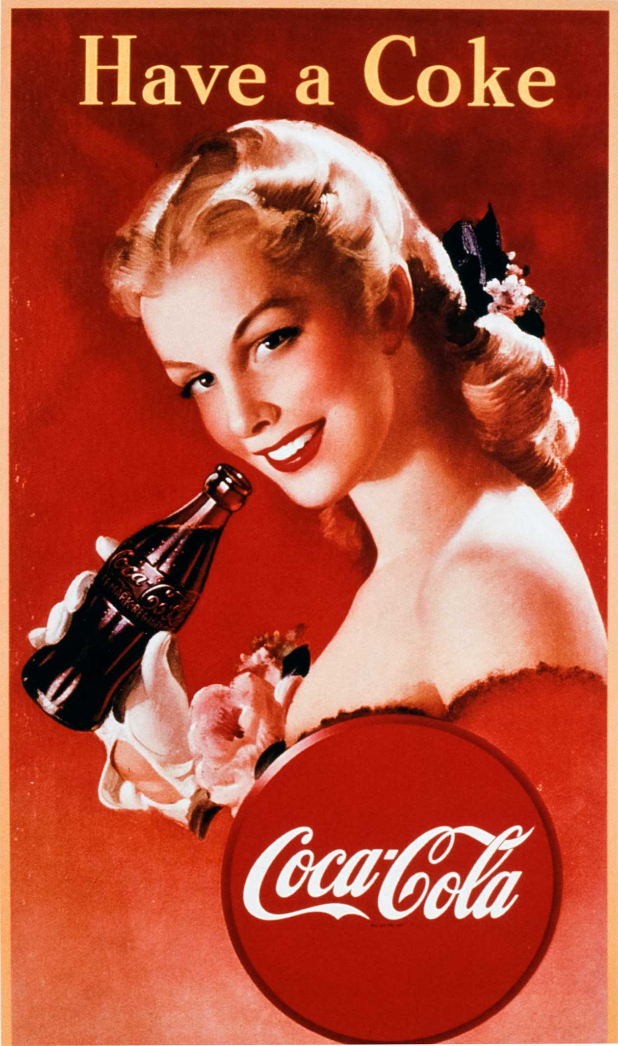 Cola Cola Ads Posters From The Early S