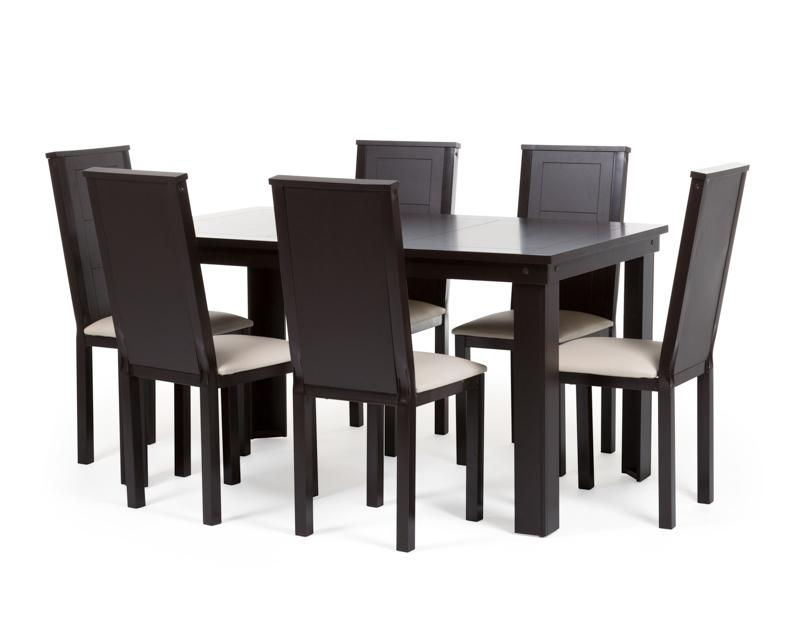 Comedor Monserrat con 6 Sillas 3184513  Coppel