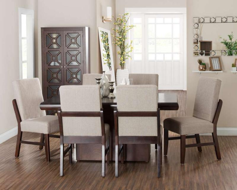 Comedor Oxford con 4 Sillas y 1 Banco 3479913  Coppel