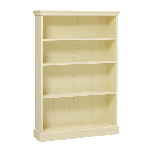 Bourton Painted Extra Wide Bookcase 5ft M450 With Free