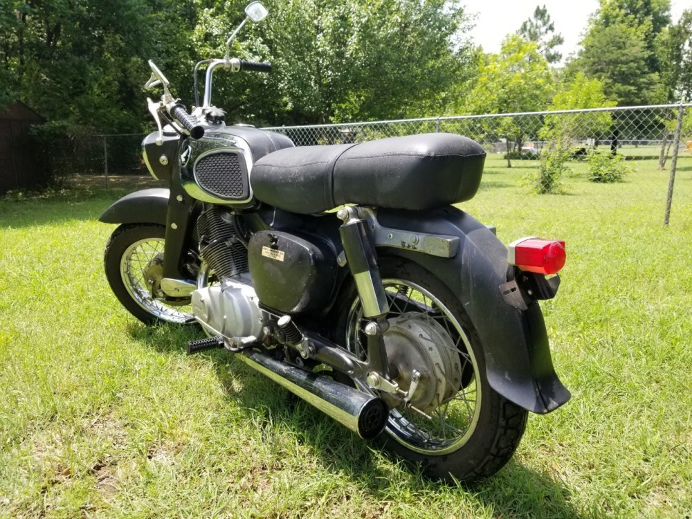 medium resolution of 1967 honda dream 305 ca77