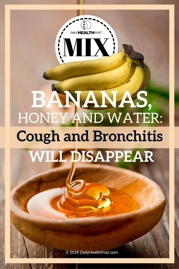 This Bronchitis Home Remedy Uses Honey And Bananas To Ease Cough