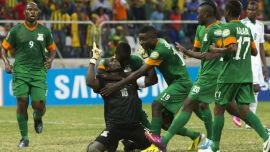 Image result for Zambia name final squad for Nigeria clash
