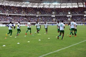 Image result for NFF to undertake final Inspection on Uyo Stadium Turf