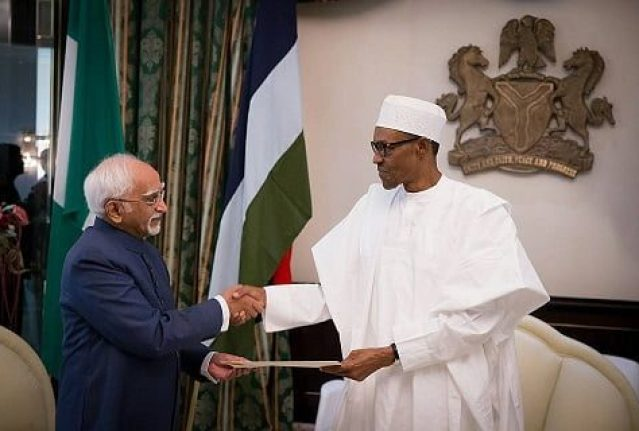 Image result for indian vice president + nigeria
