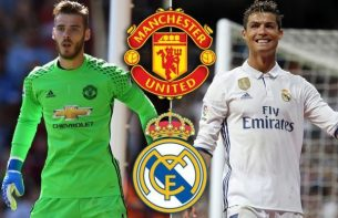 Image result for Man Utd offer De Gea for Madrid's Ronaldo, Morata