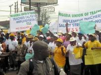 Image result for Zamfara teachers protest against LG autonomy