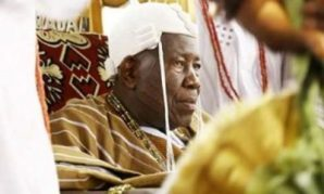 Image result for Gunmen open fire as Olubadan installs Mogajis, Baales