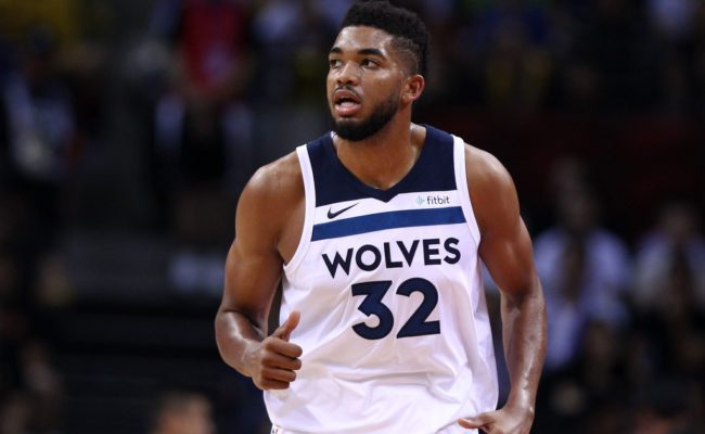 Timberwolves Karl Anthony Towns Involved In Car Accident
