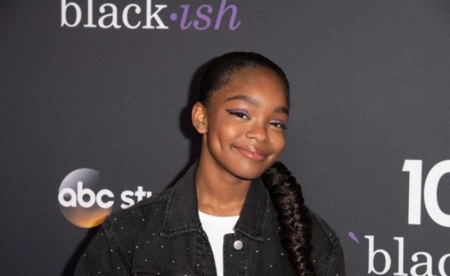 Marsai Martin Of Black Ish Becomes Youngest Executive