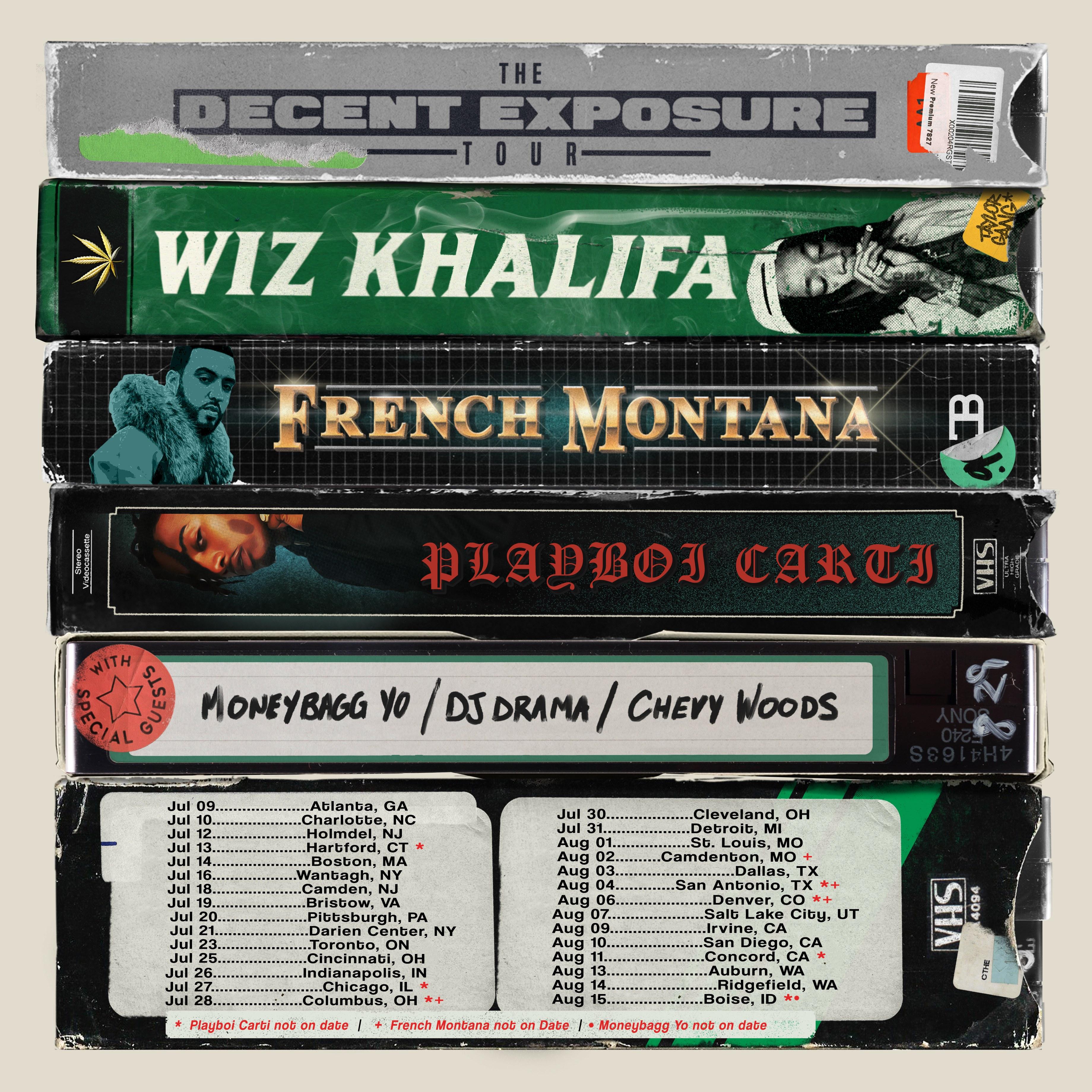 Wiz Khalifa Announces The Decent Exposure Tour With