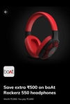 Times Prime - Save Extra Rs.500 on boAt Rockerz 550 headphones | DesiDime