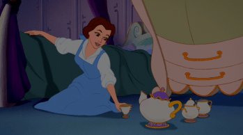 Belle and Mrs. Potts