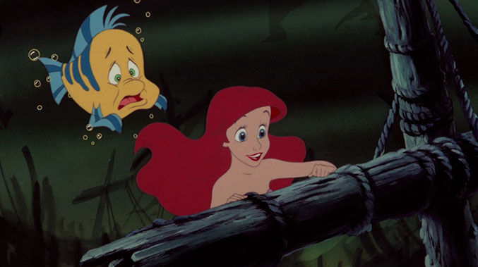 Little Mermaid Flounder is a guppy