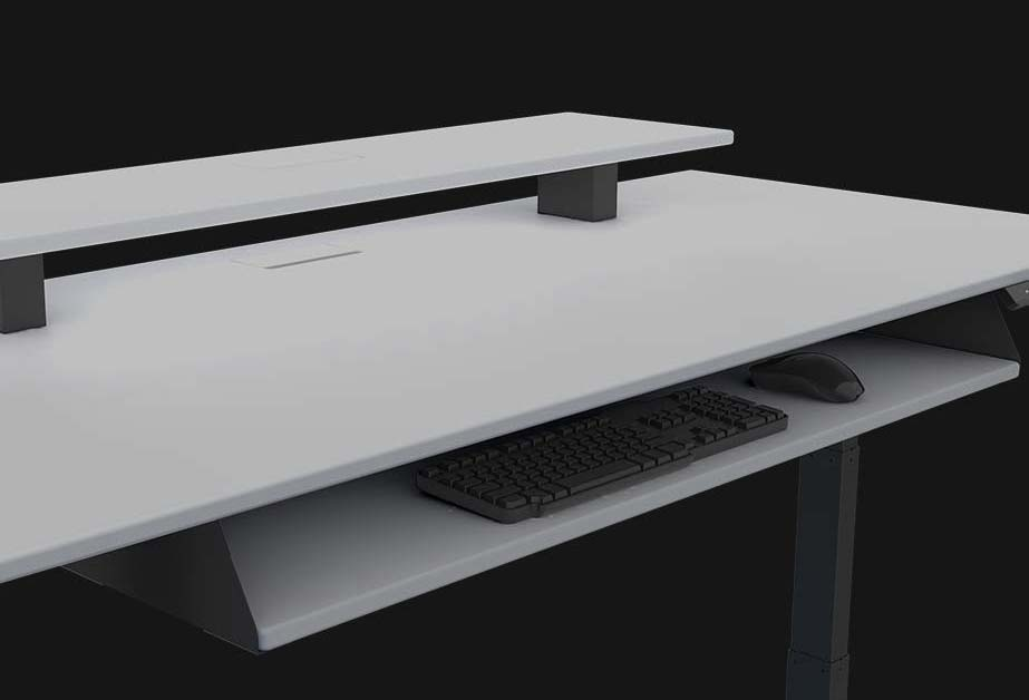 The Best White Gaming Desks Of 2020 Dot Esports