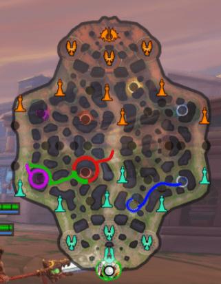 League Of Legends Jungle Map : league, legends, jungle, Here's, Where, Position, Should, Start, During, Smite, Season, Esports