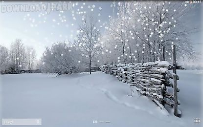 Falling Snow Live Wallpaper Apk Winter Snow Android Animiert Hintergrundbild Kostenlose