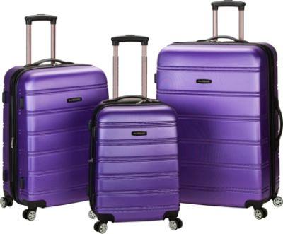 Rockland Luggage Melbourne 3-piece Hardside Spinner Set