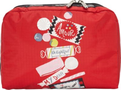Lesportsac Extra Large Rectangular Cosmetic Bag 29 Colors