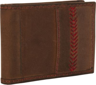 Rawlings Arch Front Pocket Wallet - Brown Mens
