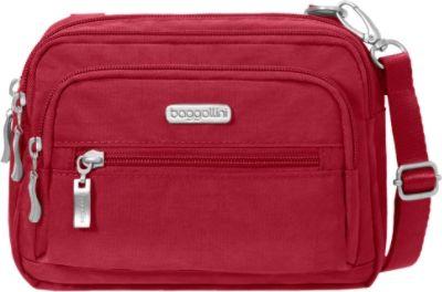 Baggallini Triple Zip Crossbody 21 Colors Cross-body Bag