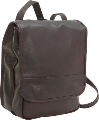 Le Donne Leather Convertible Pack Shoulder Bag
