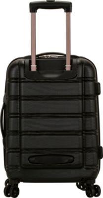 Rockland Luggage Melbourne Upright Carry- 24 Colors Hardside