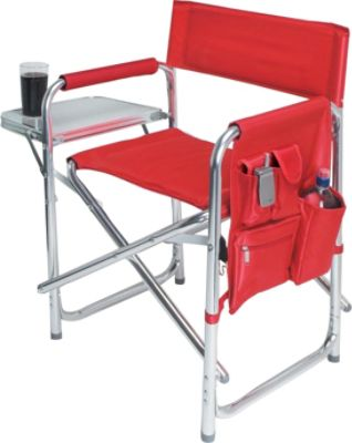 lewis and clark camping chairs used power wheel travel accessories outdoor picnic time sports chair red