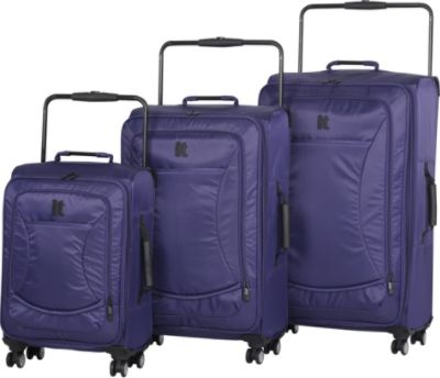 It Luggage World's Lightest 8 Wheel Spinner 3 Piece Set