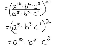 Algebra 1 Outcome 10 Lesson 2 Quotient Rule And Quotient