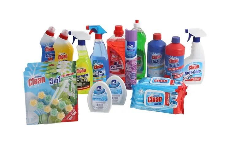 Schoonmaakpakket van At Home (18 producten)