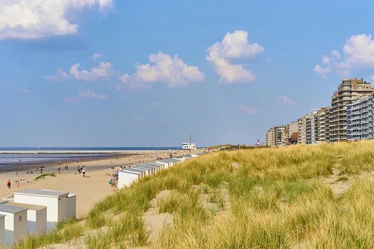 Overnachting aan de Belgische kust