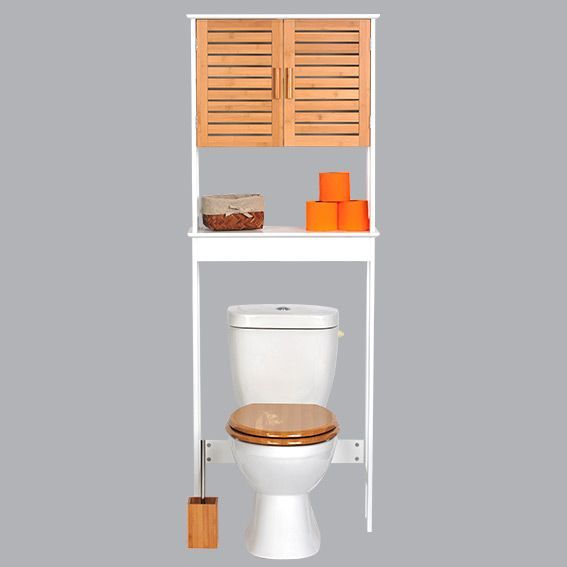 meuble dessus wc bakou bois bambou