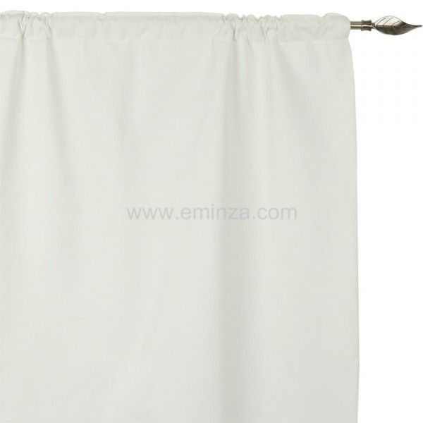 rideau de porte thermique 100 x h220 cm igloo ecru