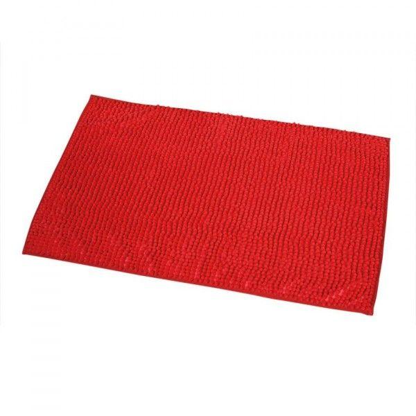 tapis de bain boules rouge
