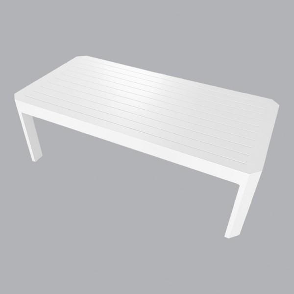 table basse rectangulaire ostara blanc