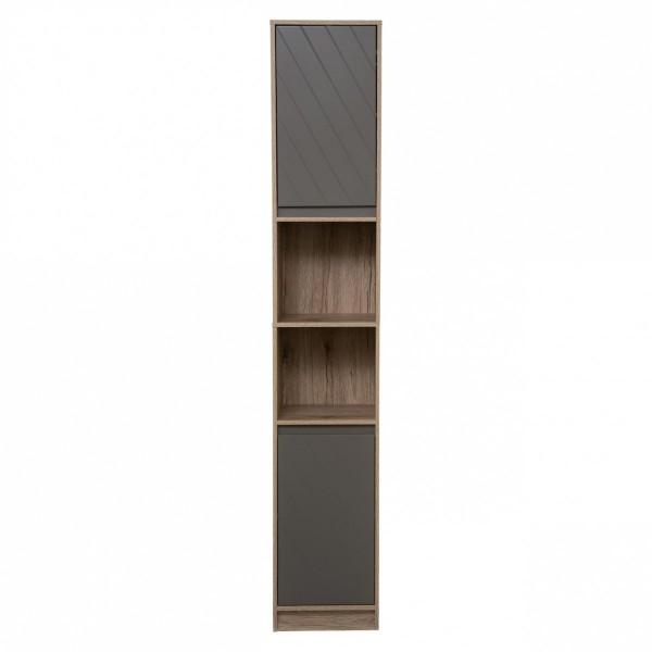 meuble colonne salle de bain elda gris