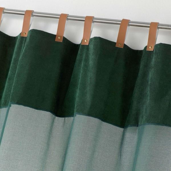 voilage 140 x 240 cm milleray vert