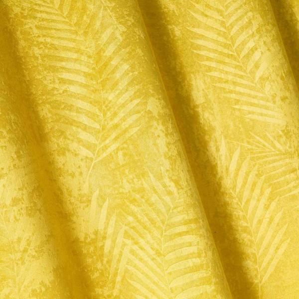 rideau occultant 140 x 240 cm tropicaline jaune