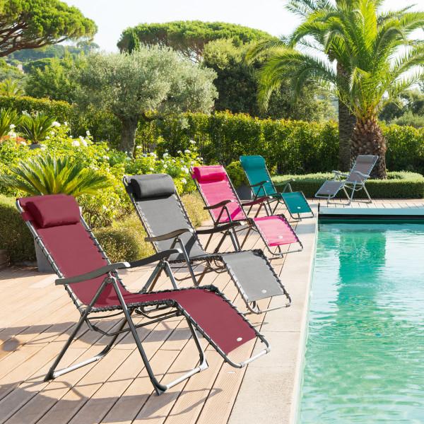 fauteuil de jardin relax silos bordeaux