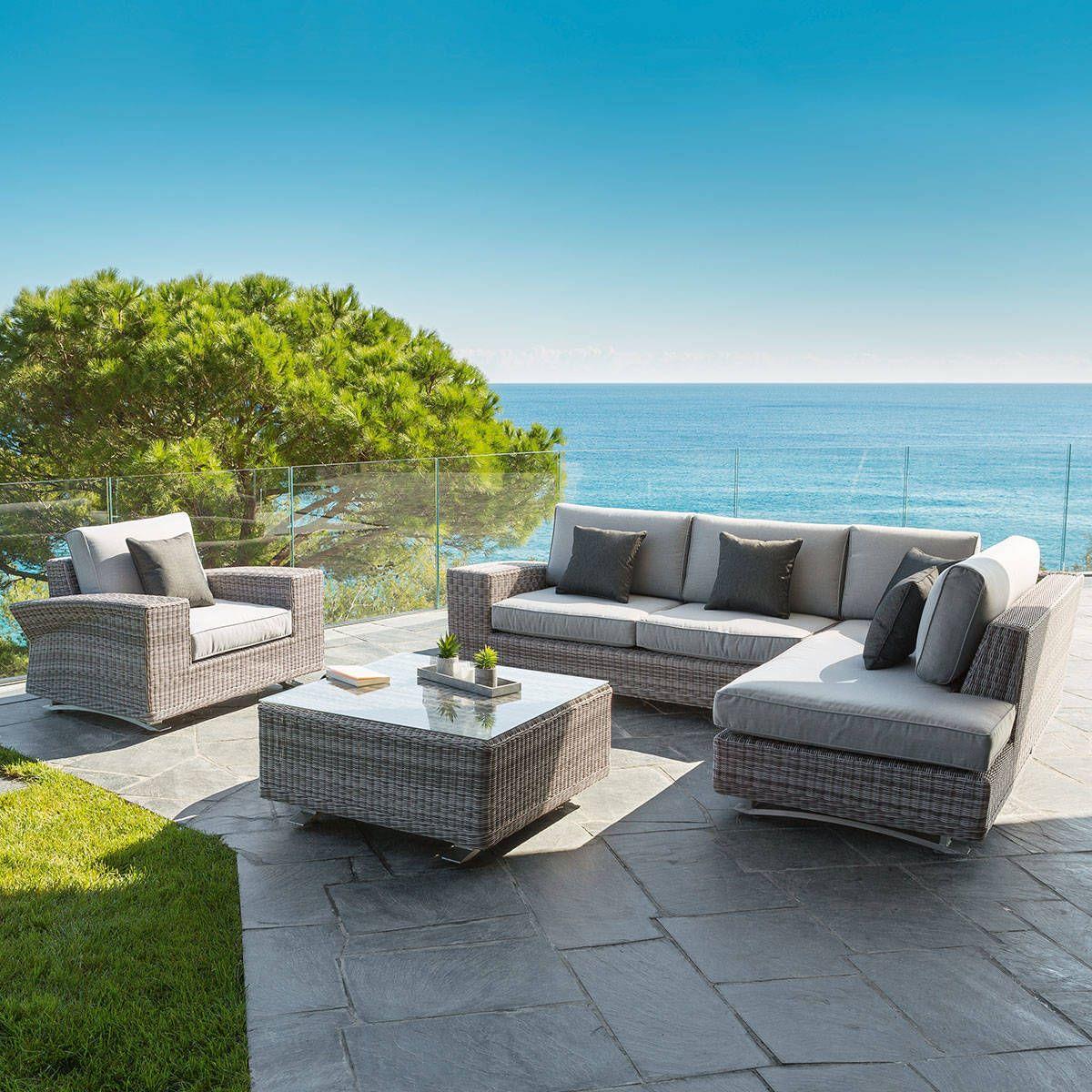 Beautiful Salon De Jardin Square Taupe Images - House Design ...