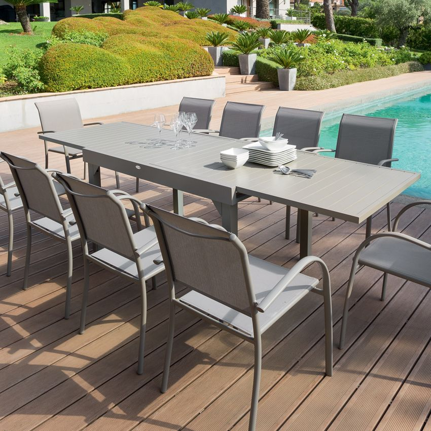 Awesome Table De Jardin Extensible Piazza Photos - Amazing House ...